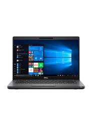 "Dell Latitude 5400 Notebook Laptop, 14"" FHD Display, Intel i7-8665U 8th Gen 1.9GHz, 1TB HDD, 8GB RAM, 2GB AMD Radeon 540X Graphics, English Keyboard, DOS, Black"