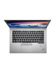 "Lenovo ThinkPad X1 Yoga Business Laptop, 14"" WQHD Touch Display, Intel Core i7-8565U 8th Gen 4.6GHz, 1TB SSD, 16GB RAM, Intel UHD Graphics 620, EN-AR KB W\FP, Win 10 Pro, 20QF0011AD, Grey"