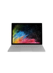"Microsoft Surface Book 2 2-in-1 Laptop, 13.5"" Touch Display, Intel Core i7 8th Gen 4.2GHz, 256GB SSD, 8GB RAM, NVIDIA GeForce GTX 1050 w/2GB Graphics, Win10 Pro, EN-AR KB, HN6-00018, Platinum"