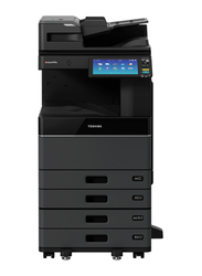 Toshiba E-Studio 2518A All-in-One Printer with Radf + Cabinet + Print & Scan Kit, Black