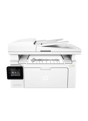 HP LaserJet Pro MFP M130FW G3Q60A All-in-One Wireless Printer, White