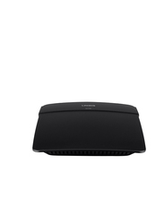 Linksys E1700 Brodband N300 Router, Black