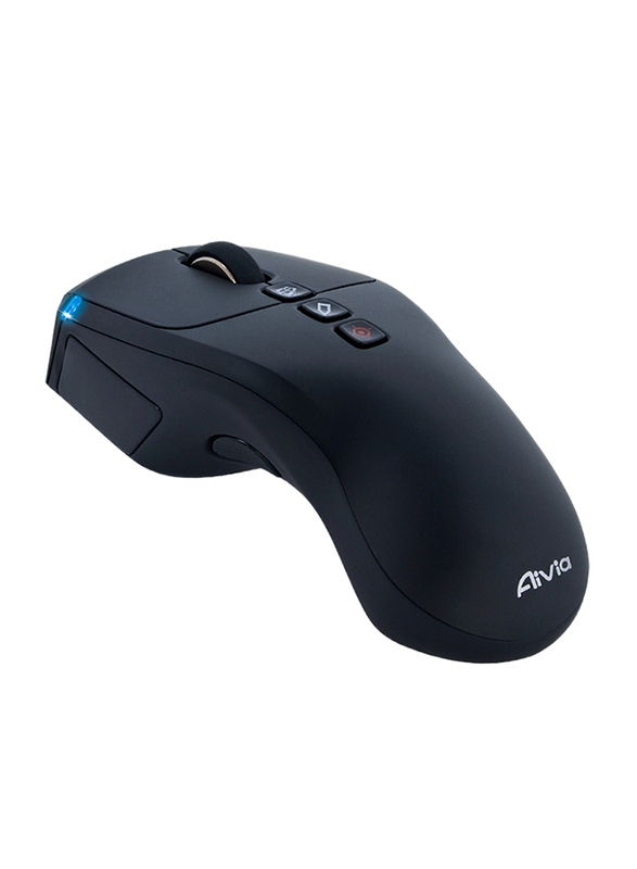 Gigabyte Aivia Neon Touch-Charge Air Presenter Wireless Optical Mouse, Black