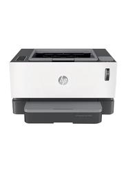 HP Neverstop Laser 1000W 4RY23A Laser Printer, White/Black