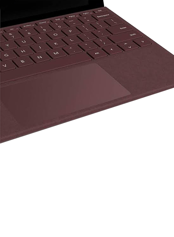 Microsoft Surface Pro Signature FFQ-00054 Wireless English/Arabic Keyboard, Burgundy