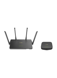 D-Link COVR-3902 Wifi Router & Seamless Extender AC3900, Black