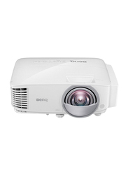 BenQ DX808ST Full HD DLP Education Projector, 3000 Lumens, with Short Throw, White