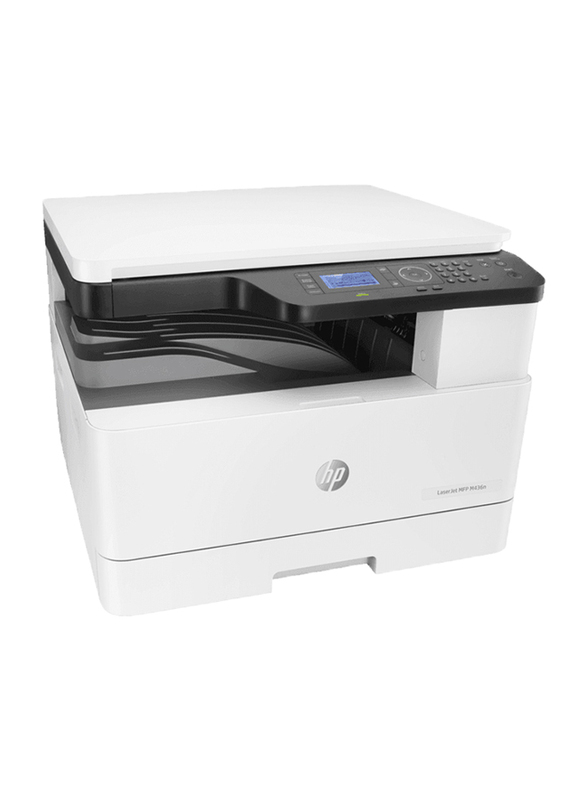 HP LaserJet MPF M436N W7U01A All-in-One Printer, White