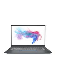 """MSI Prestige 15 A10SC Laptop, 15.6"""" Display, Intel Core i7-10710 10th Gen, 1TB SSD, 16GB RAM, NVIDIA GTX 1650 4GB GDDR5 Graphics, EN Keyboard, Win 10, 9S7-16S311-063, Black"""