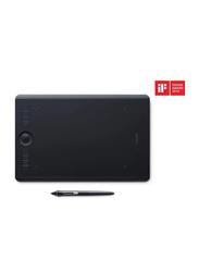 Wacom PTH-660-N Intuos Pro North Tablet, Black, Medium