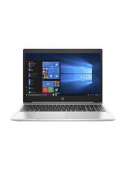 "HP ProBook 450 G7 Notebook Laptop, 15.6"" HD Display, Intel Core i5-10210U 10th Gen 1.6 GHz, 1TB SATA, 8GB RAM, NVIDIA GeForce MX130 2GB Graphics, English KB, DOS, 8MH05EA, Silver"