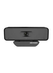 Hikvision DS-U18 4K USB Webcam, 8 MP, Black