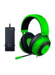 Razer Kraken Tournament Edition 3.5 mm Jack Over-Ear Gaming Headset with Mic, Green