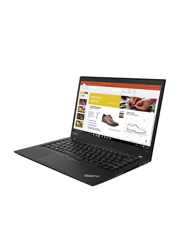 Lenovo ThinkPad T490s, 14 inch FHD IPS Touch Display, Intel Core i5 8th Gen 1.6GHz, 256GB SSD, 8GB RAM, Integrated Intel UHD 620 Graphics Card, AR KB, Business, Win 10 Pro 64, 20NX0009AD, Black