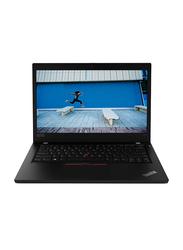"Lenovo ThinkPad L490 Business Laptop, 14"" HD Display, Intel Core i5-8265U 8th gen 1.6GHz, 1TB HDD, 4GB RAM, Intel HD Graphics 620, EN-AR KB, DOS, 20Q5S0NP00, Black"