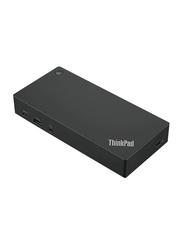 Lenovo ThinkPad Gen 2 USB-C Docking Station, Black