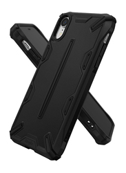 Ringke iPhone XR Dual-X Series Dual-Layer Reinforced Heavy Duty Mobile Phone Back Case Cover, Black