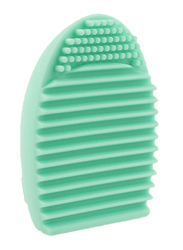 Makeup for You Silicon Egg Brush Cleaning Tool, Mint