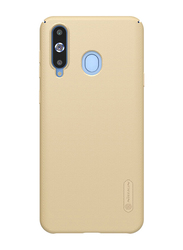 Nillkin Samsung Galaxy A8S/A9 Pro (2019) Super Frosted Hard Shield Mobile Phone Back Case Cover, Gold