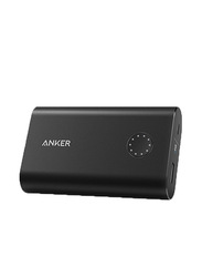 Anker 10050mAh PowerCore+ Wired Fast Charging Power Bank with Lightning & Micro-USB Input, Qualcomm Quick Charge 3.0 and IQ Technology, Black