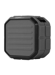 CRDC S106B Wireless Portable Rechargeable 800mAh Battery Bluetooth Speakers, Black