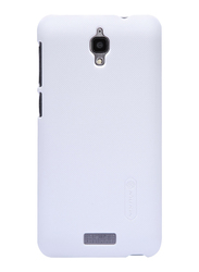 Nillkin Lenovo S660 Frosted Hard Shield Mobile Phone Case Cover, with Screen Protector, White