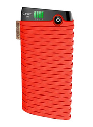 Cager 10000mAhS20 Wired Fast Charging Power Bank with Micro-USB Input, Red