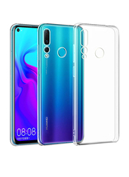 Huawei Nova 4 Slim Flexible TPU Protective Mobile Phone Back Case Cover, Clear