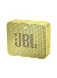 JBL GO 2 Waterproof Portable Bluetooth Speaker, Yellow