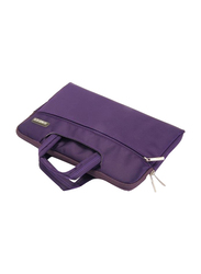 Basics Universal  13-inch Carry Sleeve Laptop Bag, Velvet for MacBook Pro 13 and Laptops upto 13-inch, Purple