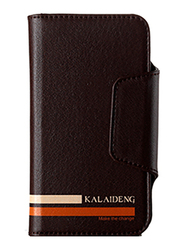 Kalaideng Versal Series Wallet Leather 4.2inch Case for Smartphone, Brown