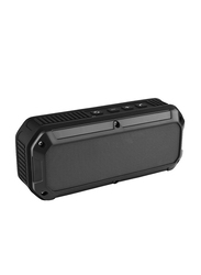 CRDC S200C Wireless Portable Bluetooth Speakers Rechargeable Speaker, Black
