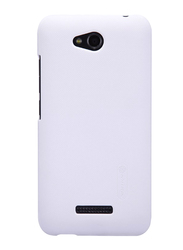 Nillkin HTC Desire 616 Frosted Hard Shield Mobile Phone Case Cover, with Screen Protector, White