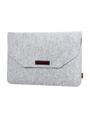 Basics Protective Slim 13-inch Felt Sleeve Laptop Bag for 13-inch Laptop and 13-inch MacBook Pro/Retina/Air, Grey