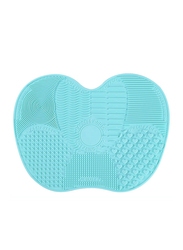 Silicone Makeup Brush Cleaner Mat, Green