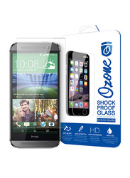 Ozone HTC One M8 0.26mm Shock Proof Tempered Glass Mobile Phone Screen Protector, Clear