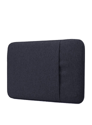 Basics Denim Series Slim 13-inch Sleeve Laptop Bag for 13-inch Laptop and 13-inch MacBook Pro/Retina/Air, Black