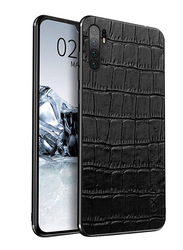 NXE Huawei P30 Pro Fashion Mobile Phone Case Cover, Crocodile Pattern, Black