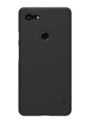 Nillkin Google Pixel 3 XL Super Frosted Hard Mobile Phone Case Cover, with Stand, Black