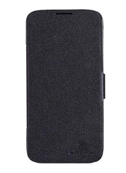 Nillkin Lenovo A830 Stylish Leather Mobile Phone Case Cover, Black