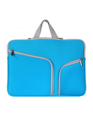 Basics 13.3-inch Sleeve Laptop Bag, Protective Double Zeeper for MacBook Air 13/Pro 13-inch, Blue