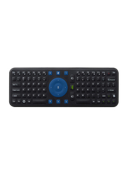 Measy RC7 Air Mouse, Remote Control 2.4 Ghz Wireless Gyroscope English Keyboard, Black