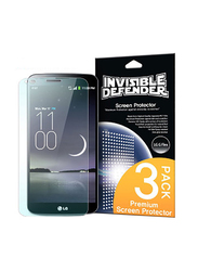Rearth Ringke LG G Flex Invisible Defender HD Clarity Mobile Phone Screen Guard Pack of 4 Set, Clear