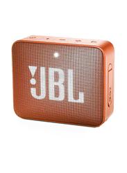JBL GO 2 Waterproof Portable Bluetooth Speaker, Orange