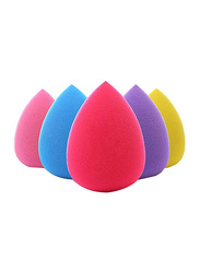 5 Pieces Makeup Sponge Set, Multicolor