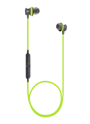 Awei A980BL Wireless In-Ear Noise Cancelling Sports Earphone with Mic, Bluetooth 4.0, Green
