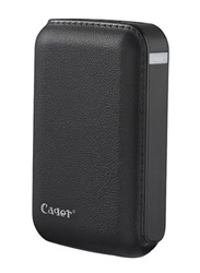 Cager 7200mAh B15 Wired Fast Charging Power Bank with External Battery & Micro-USB Input, Black