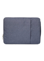 Basics Denim Series Slim 13-inch Sleeve Laptop Bag for 13-inch Laptop and 13-inch MacBook Pro/Retina/Air, Navy Blue