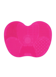 Silicone Makeup Brush Cleaner Mat, Pink