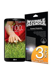 Rearth Ringke LG G2 Invisible Defender HD Clarity Mobile Phone Screen Guard Pack of 4 Set, Clear